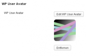 WP User Avatar - Avatar bestimmen