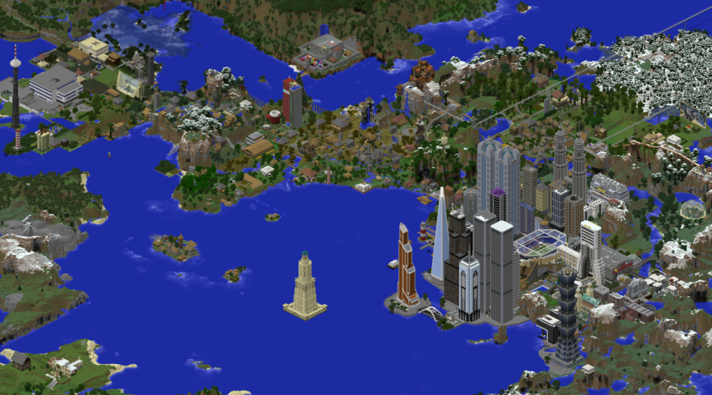 how to download a minecraft map from a server