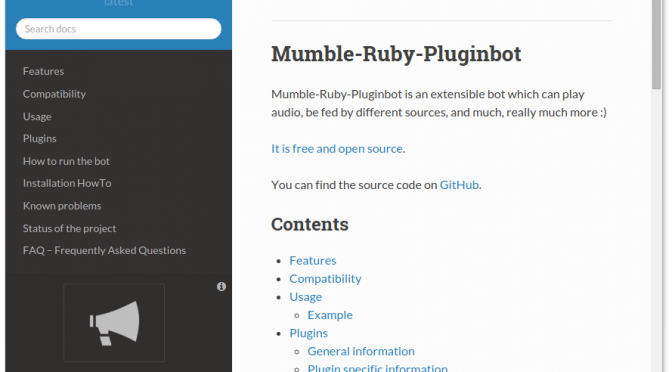 "A Great New Release of Mumble-Ruby-Pluginbot – ""Winter melon punch"" 0.10.0"